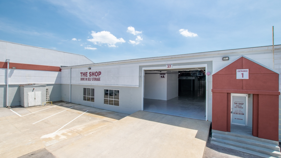 The Shop Drive In Self Storage